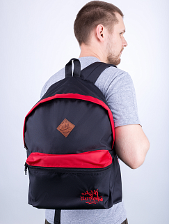 Рюкзак Milk - Classic, Black/Red