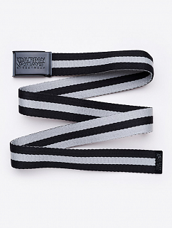 Ремень Urban Planet - Stripe, black\grey
