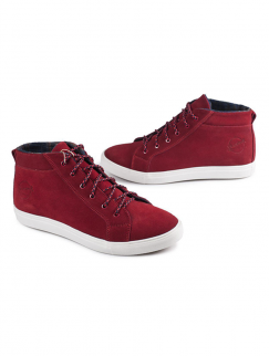 Хайтопы Shamrock - HiTops Suede, Red