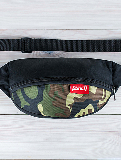 Поясная сумка Punch - Black/Camo