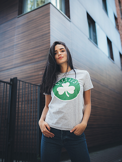 Футболка Liberty - Boston Celtics, Grey