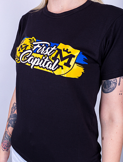Футболка женская  FCMK Ultras Stuff - First Capital