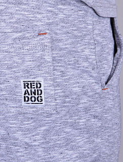 Легкие спортивные штаны Red and Dog – Pou, Grey Melange
