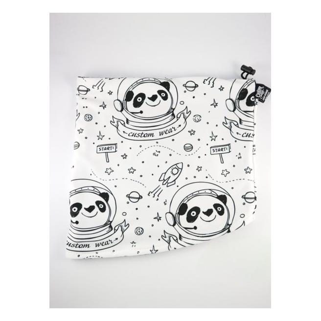 Хомут Custom Wear - Space Panda, White