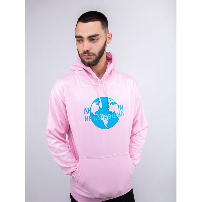 Худи Alanterz - International, Pink/Blue