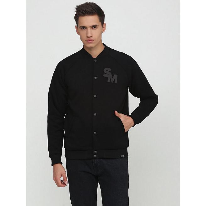 Бомбер Seven Mountains - Cotton Bomber, Black