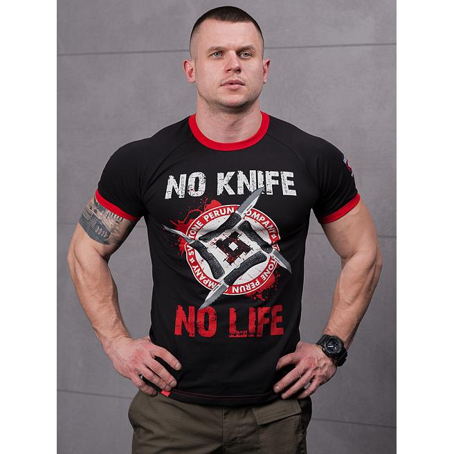 Футболка Sva Stone - No Knife - No life спорт