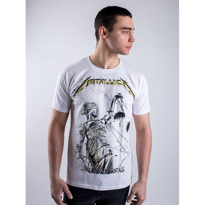 Футболка Merch - Metallica, And Justice For All