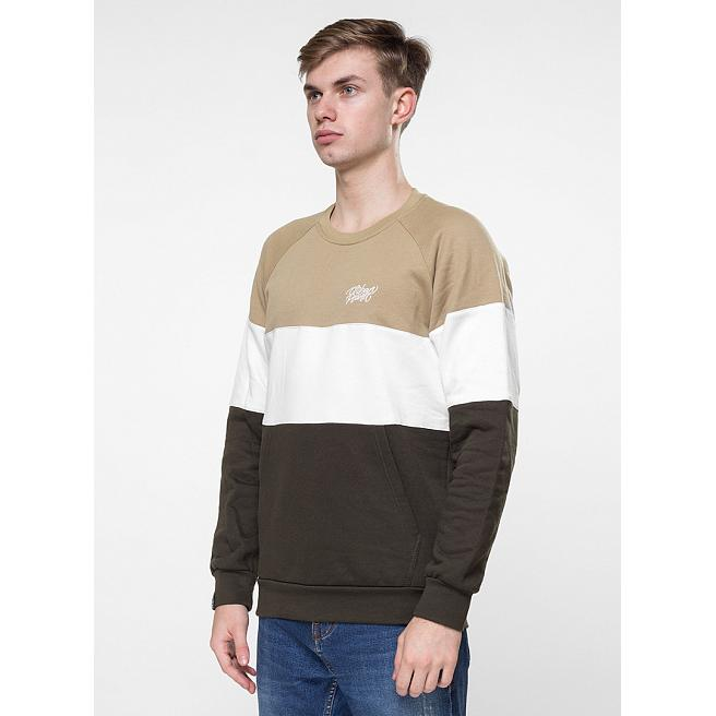 Свитшот утепленный Urban Planet - Oll C, Beige/White/Khaki