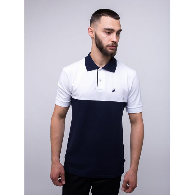 Поло Seven Mountains - 7M, Navy/White