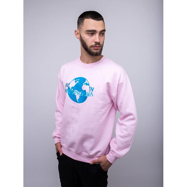 Свитшот Alanterz - International, Pink/Blue