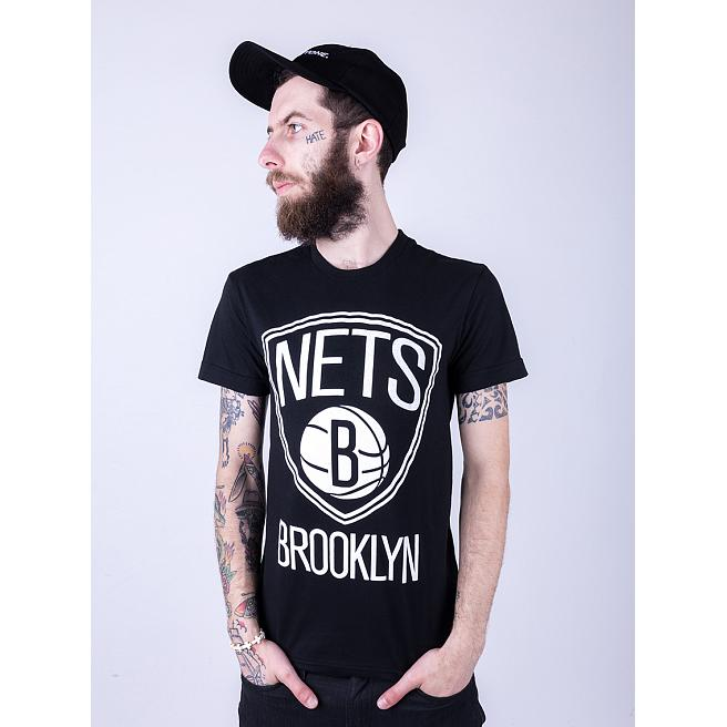 Футболка Liberty - Brooklyn Nets, Black