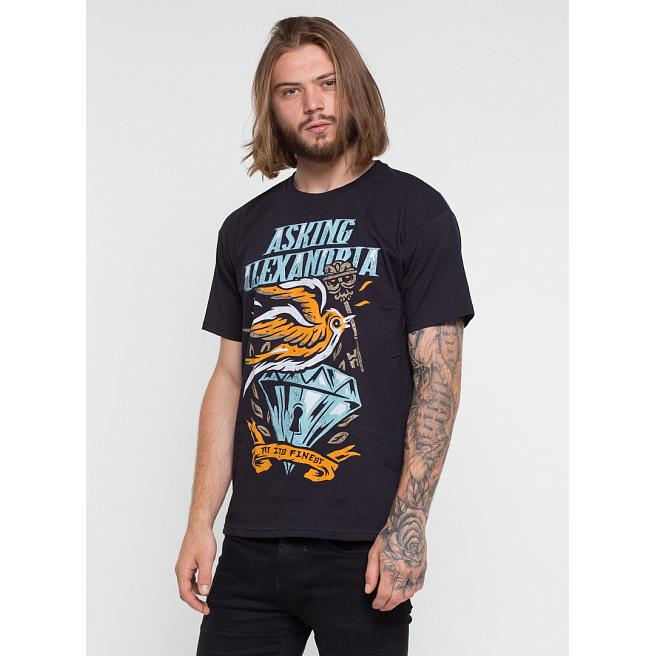 Футболка Merch - Asking Alexandria, Its Finest, Black