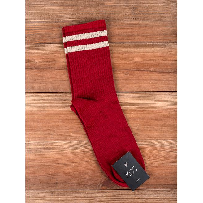 Носки Sox - Stripes, Bordo