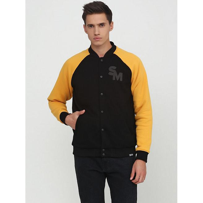 Бомбер Seven Mountains - Cotton Bomber, Black/Yellow