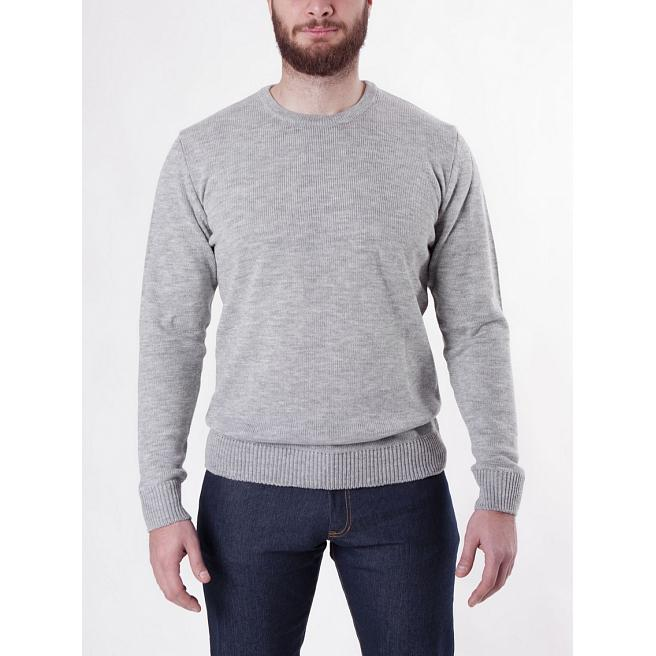 Свитшот Seven Mountains - Crew Neck Knit, Grey/Melange