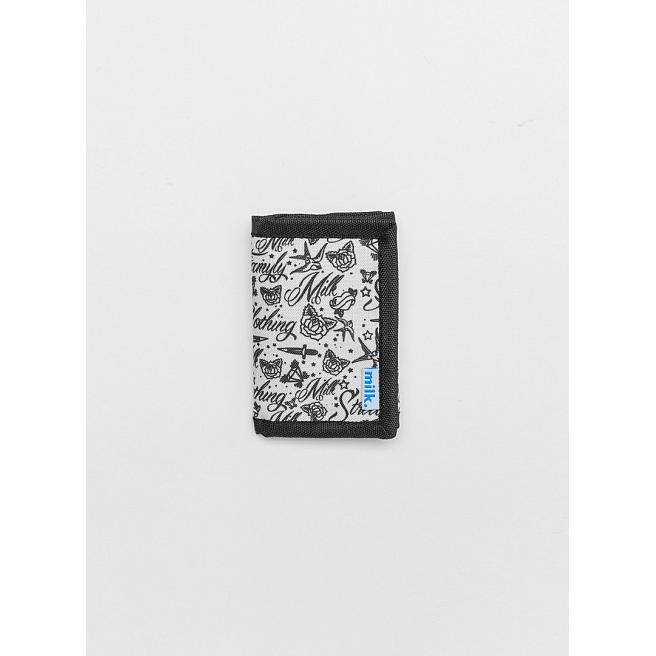 Кошелек Milk - Wallet, Tattoos, White