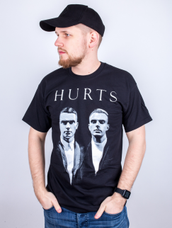 Футболка Merch - Hurts, Exile, Black