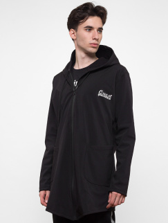 Ветровка удлиненная Quest Wear - Reflective, Waterproof, Black