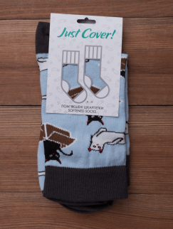 Носки Just Cover - Cats new, Blue