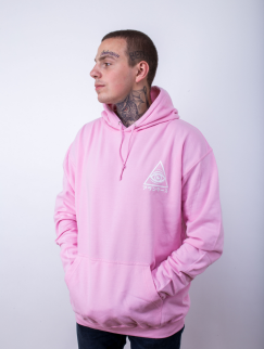 Худи утепленный Alanterz - Basic Japan Logo, Pink