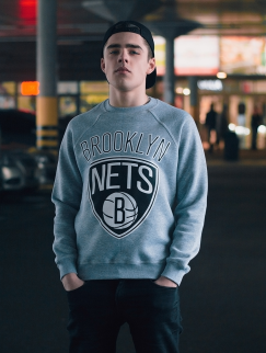 Свитшот Liberty - Brooklyn Nets, Grey