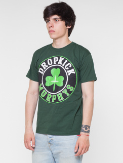 Футболка Merch - Dropkick Murphys, Logo, Green