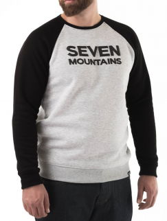 Свитшот Seven Mountains - Puff, Melange/Black