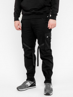 Штаны PUNCH - Cargo Stripe, Black
