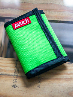 Кошелек Punch - Cash, Acid Green