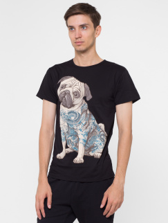 Футболка Urbanist - Tattoo Pug, Black