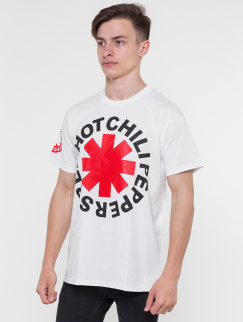 Футболка Merch - Red Hot Chili Peppers, Logotype, White