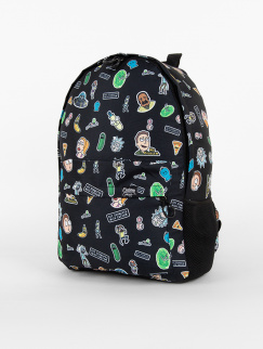 Рюкзак Custom Wear - Duo 2.0, Rick and Morty, Black