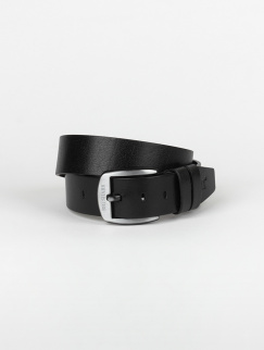 Ремень Big Shark - Leather, Black
