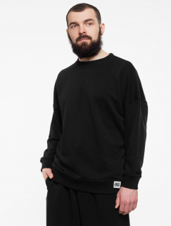 Свитшот PUNCH - Oversize, Black