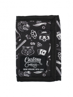 Кошелек Custom Wear - Trash, Black